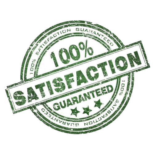 100% satisfied cleaning service guaranteed