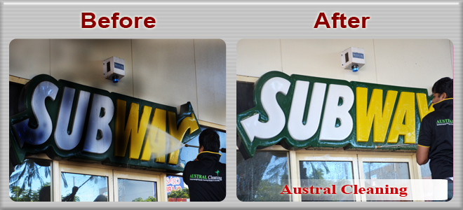 pressure cleaning subway brisbane