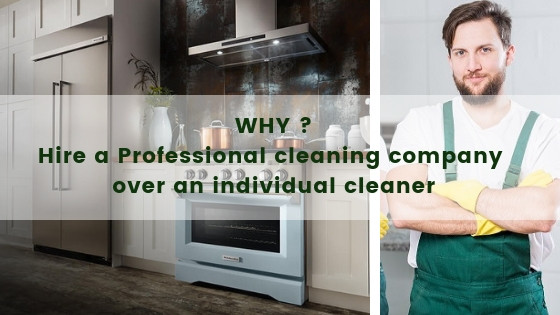 Professional cleaning in Melbourne