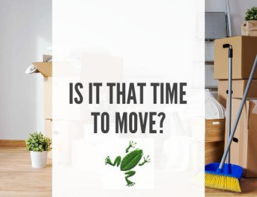 Is it that time to move? Handy tips to get you organised