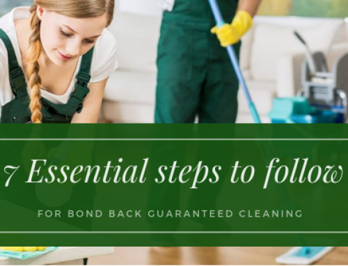 7 Essential steps to follow in End of Lease Cleaning in Melbourne